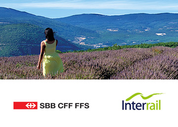 Interrail – Co Branding Kampagne mit SBB 2016